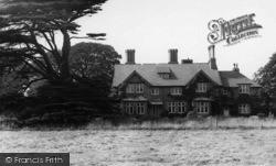 Escrick, Queen Margaret's School, The Red House c.1955