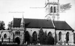 Escrick, St Helen's Church c.1955