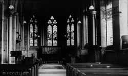 Escrick, St Helen's Church, Interior c.1955