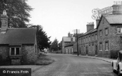 Escrick, Village, From The Post Office c.1955