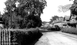 Escrick, Village Stores And Fountain View c.1955