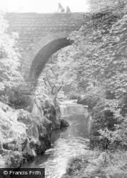 Esgairgeiliog, Evans Bridge c.1955