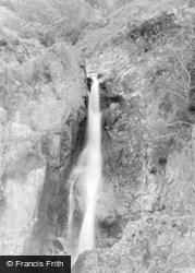 Eskdale Green, A Waterfall 1932