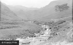Eskdale Green, Dodden Valley From Esk Falls 1932