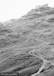 Driving Up Wrynose Pass c.1960, Eskdale Green