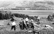 Eskdale Green, Mountain Rescue Team, Outward Bound Mountain School c1955