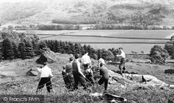 Mountain Rescue Team, Outward Bound Mountain School c.1955, Eskdale Green