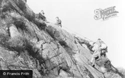Eskdale Green, Outward Bound Mountain School, Climbing c.1955