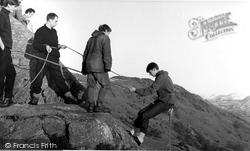 Eskdale Green, Rock Climbing, Outward Bound Mountain School c.1955