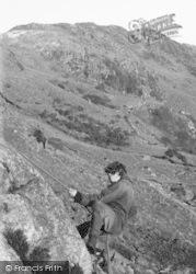 Eskdale Green, Steep Climb, Outward Bound Mountain School c.1955