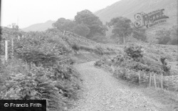 Eskdale Green, The Foot Of Hard Knott Pass 1932