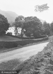 Eskdale Green, The Hardknott Road c.1932