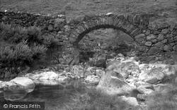 Eskdale Green, The Old Packhorse Bridge Near Esk Falls c.1932