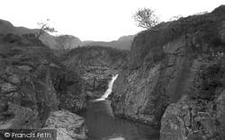 Eskdale Green, Waterfall And Pool 1932