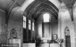Essington, Church Interior c.1965