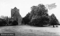 St Nicholas' Church c.1965, Etchingham