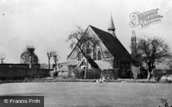 Etchinghill, The Church Of St Mary's Hospital c.1960