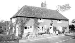Etchinghill, The Stores And Café c.1960
