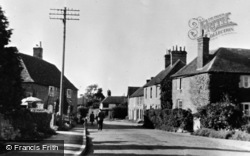 Etchinghill, The Village c.1960