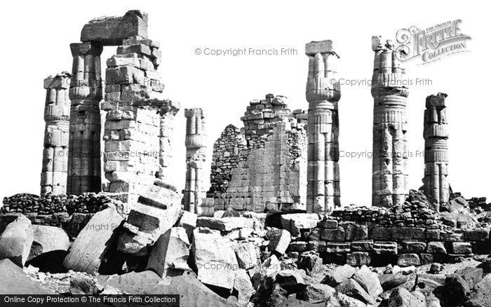 Photo of Ethiopia, The Temple Of Soleb 1860