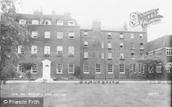 Eton, Angelo's, Eton College c.1955