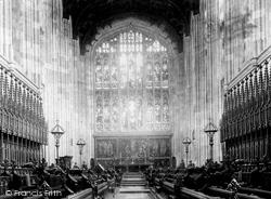 Eton, College Chapel 1906