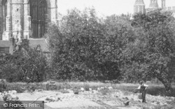 Eton, College, Gardener 1895