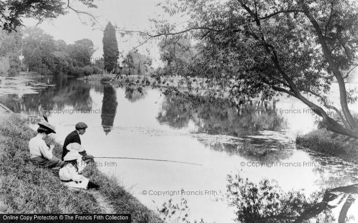 Photo of Eton, Fishing 1909