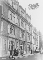 Eton, Hodgson House, Eton College c.1955