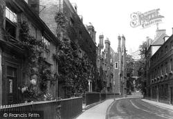 Eton, Keats Lane 1895