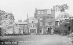 Eton, The Manor House, Eton College c.1955