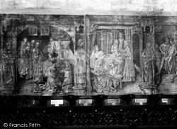 Eton, Wall Paintings In Eton College Chapel 1930