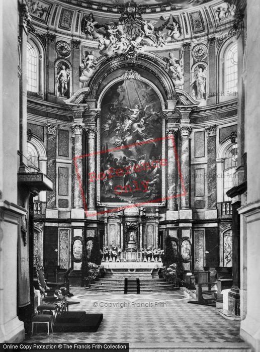 Photo of Ettal, Church, Altar c.1935