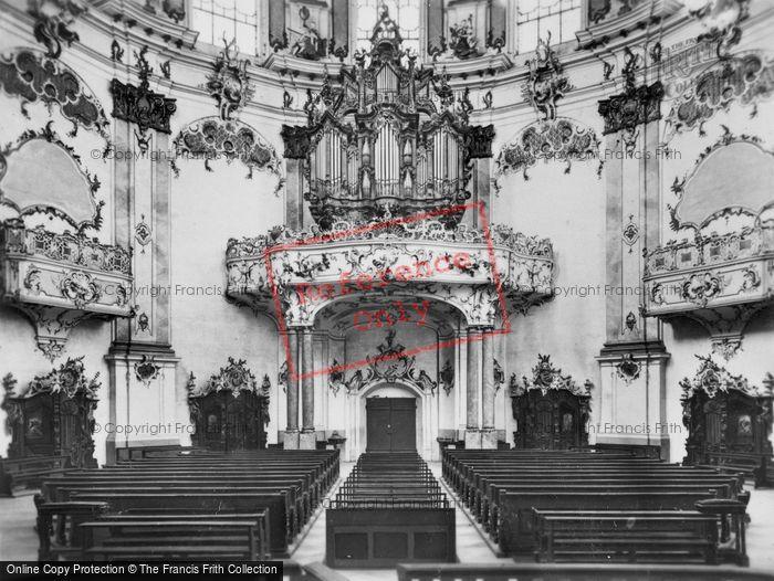 Photo of Ettal, Church, The Organ c.1935