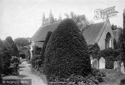 Eversley, St Mary's Church 1901