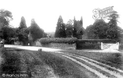Eversley, St Mary's Church And Lychgate 1901