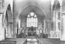 All Saints Church Interior 1892, Evesham