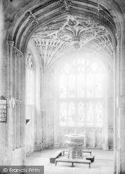 All Saints Church Interior 1895, Evesham