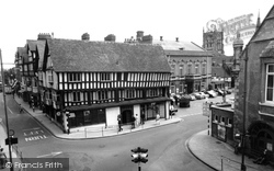 Booth Hall And Market Place c.1965, Evesham