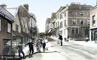 Evesham, Bridge Street 1892