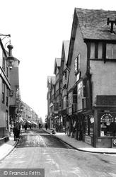 Bridge Street 1910, Evesham