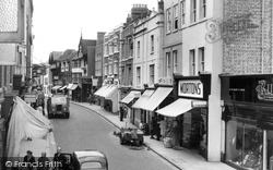 Bridge Street c.1960, Evesham
