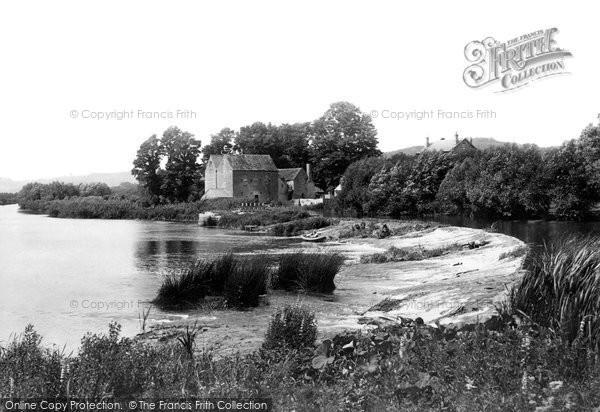 Evesham,Chadbury Mill 1899,Hereford and Worcester