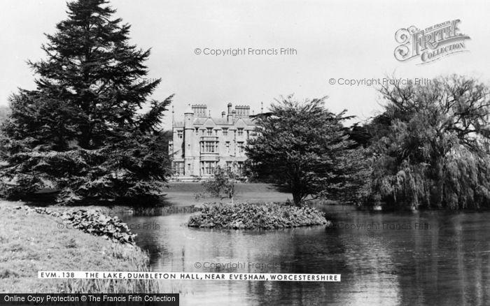 Photo of Evesham, Dumbleton Hall And Lake c.1960