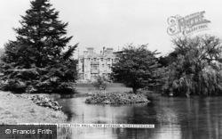 Dumbleton Hall And Lake c.1960, Evesham