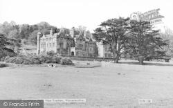 Dumbleton Hall c.1960, Evesham