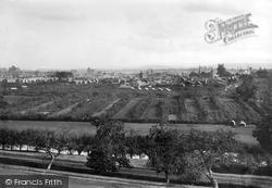 Evesham, From Clark's Hill 1895