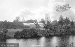From The Avon 1895, Evesham