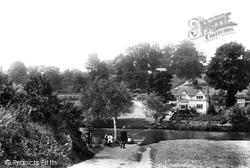 Evesham, Hampton Ferry 1892