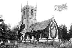 Hampton, St Andrew's Church 1895, Evesham